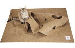 The Ripple Rug® – Cat Activity Play Mat