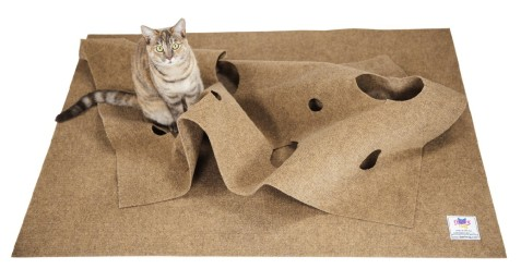 The Ripple Rug® – Cat Activity Play Mat
